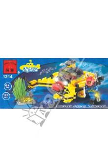 """Конструктор """"Подводная лодка"""" 128 деталей (1214)"""