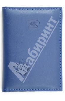 Телефонная книга, А7, синий (13303)