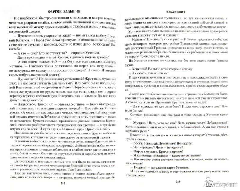 Иллюстрация 1 из 12 для Комиссия - Сергей Залыгин | Лабиринт - книги. Источник: Лабиринт