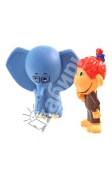 Пластизоль Мартышка и слоник (5978GT)Герои мультфильмов<br>Высота фигурок: 9 см.<br>Изготовлено из ПВХ-пластизоли.<br>Не рекомендовано детям до 1 года.<br>Производитель: Китай.<br>