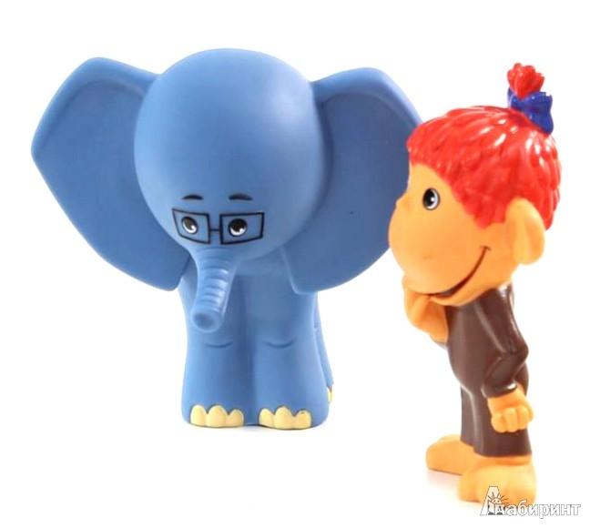 """Иллюстрация 1 из 7 для Пластизоль """"Мартышка и слоник"""" (5978GT)   Лабиринт - игрушки. Источник: Лабиринт"""