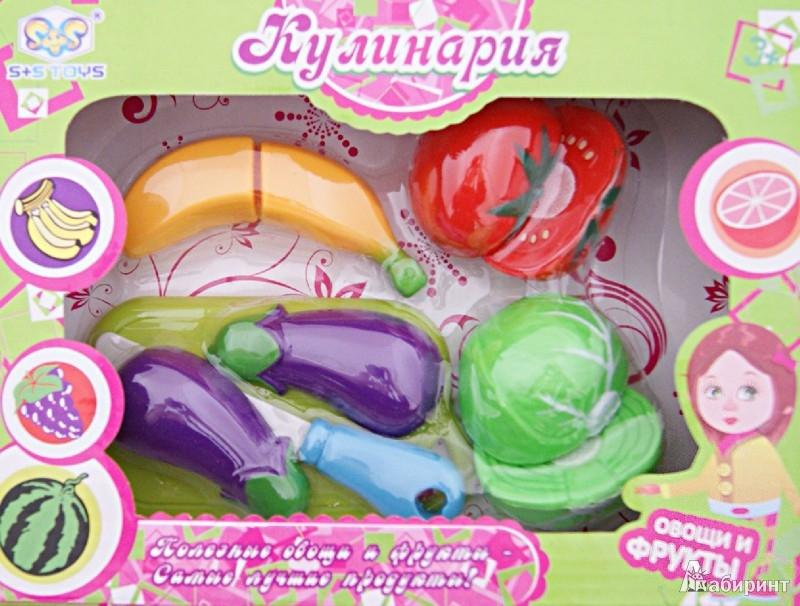 """Иллюстрация 1 из 4 для Игровой набор """"Овощи и фрукты"""" (EJ80108R)   Лабиринт - игрушки. Источник: Лабиринт"""