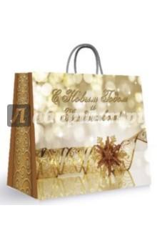 """Пакет бумажный для сувенирной продукции """"С Новым годом и Рождеством!"""" (27622)"""