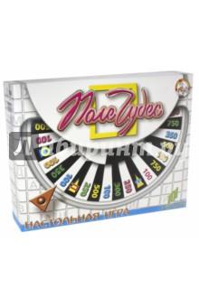 Поле Чудес. Игра (12001, 00154)Викторины<br>101 слово в каталоге! Настольная игра-викторина для детей от 5-ти лет. <br>В наборе: пластиковое поле-барабан, карточки.<br>