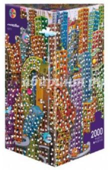 """Puzzle-2000 """"Город"""", Mordillo + Poster (29495) Heye"""