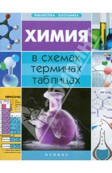 Химия в схемах, терминах, таблицахСправочники, тесты, сборники задач по химии<br>В пособии в удобной форме (в виде таблиц и схем) изложены основные понятия химии, изучение которых предусмотрено действующей школьной программой.<br>Пособие предназначено для учащихся и учителей общеобразовательных школ, абитуриентов, а также для всех, кто интересуется химией.<br>5-е издание.<br>