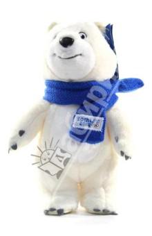 """Белый мишка с шарфом, 20 см """"Sochi 2014"""" (GT5566)"""