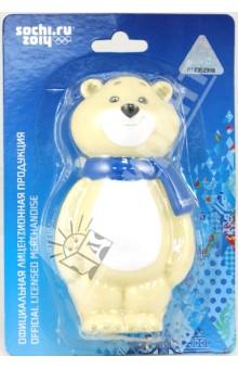 Пластизоль Белый Мишка (GT5548)Животный мир<br>Игрушка из высококачественных полимерных материалов.<br>С этими игрушками ребенок может играть и в ванной.<br>Высота игрушки: 14 см.<br>Для детей старше 1 года.<br>Сделано в Китае.<br>