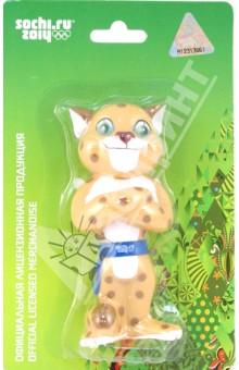 Пластизоль Леопард (GT5550)Животный мир<br>Игрушка из высококачественных полимерных материалов.<br>С этими игрушками ребенок может играть и в ванной.<br>Высота игрушки: 12 см.<br>Для детей старше 1 года.<br>Сделано в Китае.<br>