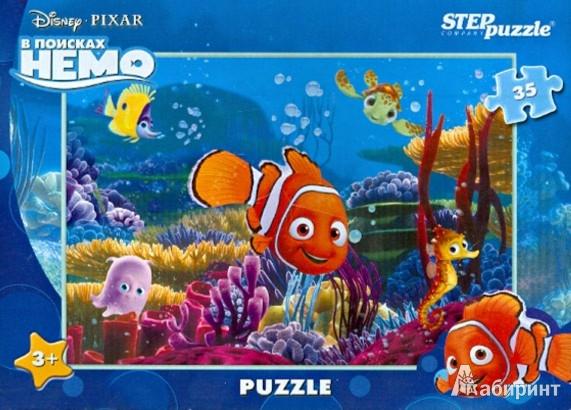"""Иллюстрация 1 из 5 для Step Puzzle-35 """"DISNEY. В поисках Немо"""" (91117)   Лабиринт - игрушки. Источник: Лабиринт"""
