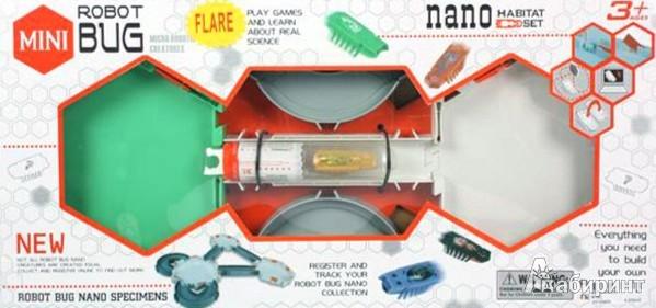 Иллюстрация 1 из 2 для Микро-жук с треком, со светом, на батарейках (618C)   Лабиринт - игрушки. Источник: Лабиринт
