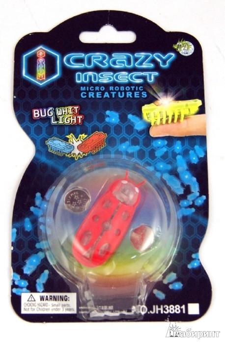 Иллюстрация 1 из 3 для Микро-жук со светом, на батарейках (JH3881A) | Лабиринт - игрушки. Источник: Лабиринт