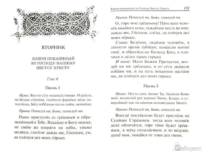 Иллюстрация 1 из 8 для Акафисты и каноны на каждый день   Лабиринт - книги. Источник: Лабиринт