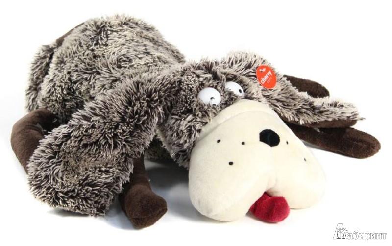 Иллюстрация 1 из 2 для Мягкая игрушка. Большая собака - 30 см (12220) | Лабиринт - игрушки. Источник: Лабиринт