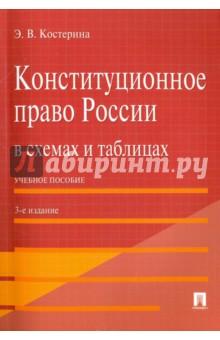 Конституционное право России в схемах и таблицах. Учебное пособие