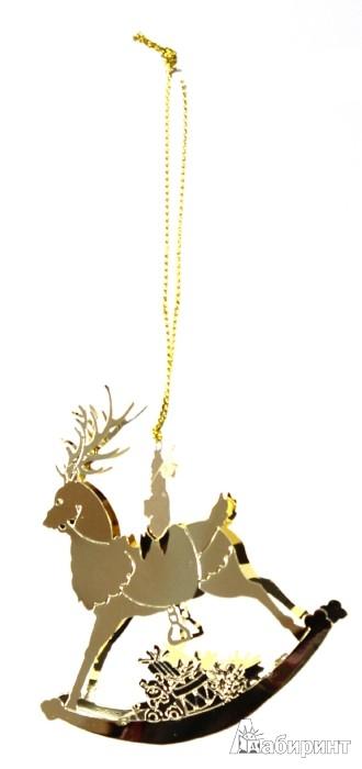Иллюстрация 1 из 4 для Новогоднее декоративное подвесное украшение (25088).   Лабиринт - сувениры. Источник: Лабиринт
