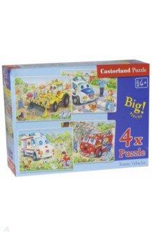 Puzzle-8*12*15*20 Транспорт (B-04201)Наборы пазлов<br>Пазлы-мозаика для детей.<br>В наборе 4 картинки: по 8, 12, 15, 20 элементов. <br>Правила игры: вскрыть упаковку и собрать игру по картинке.<br>Размер собранной картинки: 4 х 23х16,5 см.<br>Не давать детям до 3-х лет из-за наличия мелких деталей.<br>Производитель: Польша.<br>