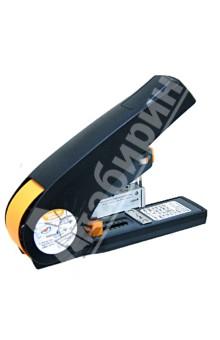 Архивный степлер энергосберегающий, 100 листов (403002)Степлеры<br>Архивный степлер энергосберегающий.<br>- на 60% более легкое и бесшумное скрепление<br>- нескользящая поверхность<br>- легкое и бесшумное скрепление<br>Предназначен для скрепления бумажных носителей.<br>Мощность скрепления 100 листов.<br>Глубина загрузки 50 мм.<br>Цвет: черный.<br>Сделано в Китае.<br>