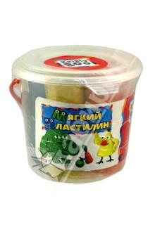 Мягкий пластилин в ведерке, 5 шт., 400 гр. (46651)