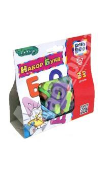Набор букв, 33 детали (47098)Буквы на магнитах<br>Набор букв.<br>Количество деталей: 33.<br>Эта игра поможет ребенку познакомиться с буквами, и цветами, научиться складывать слоги и решать несложные примеры, а также в игре тренируется усидчивость, внимание и мелкая моторика.<br>Изготовлено из вспененного полимерного материала.<br>Для детей 3-7 лет.<br>Упаковка: блистер.<br>Сделано в Китае.<br>