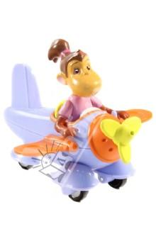 Бабар и приключения слоненка Баду. Самолет с обезьянкой Чику (Т55814) 1TOY