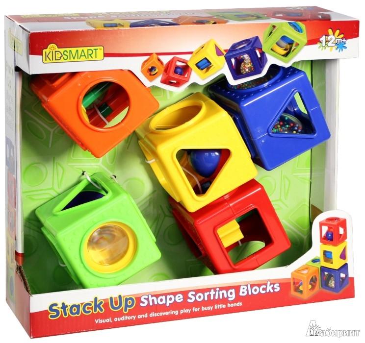 Иллюстрация 1 из 13 для Кубики развивающие (21580) | Лабиринт - игрушки. Источник: Лабиринт