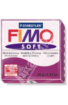 FIMO Soft полимерная глина, 56 гр., цвет фиолетовый (8020-61)