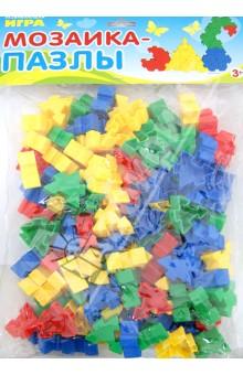 Развивающая игра Мозаика-пазлы (6131)Мозаика<br>Детская развивающая игра Мозаика-пазлы.<br>Комплектация: набор разноцветных элементов мозаики (4 цвета).<br>Материал: пластмасса.<br>Упаковка: пластиковый прозрачный пакет с подвесом (блистер).<br>Для детей от 3-х лет.<br>Сделано в России.<br>