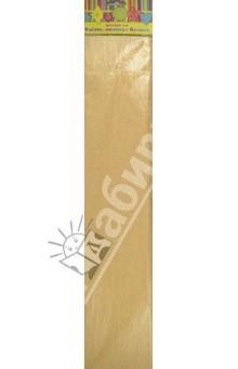 Бумага желтая перламутровая крепированная (28594/10) Феникс+
