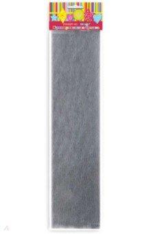 Бумага серебристая крепированная (28597/10)