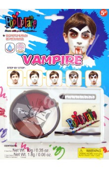 "Набор - краски для росписи лица ""Вампир"" (81064)"