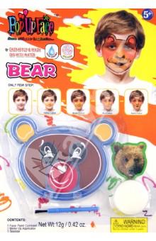 Набор - краски для росписи лица Медведь (81065-4)