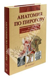 Анатомия по Пирогову. Атлас анатомии человека. В 3-х томах. Том 2: Голова. Шея