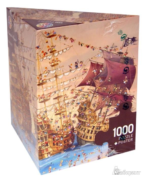 "Иллюстрация 1 из 26 для Puzzle-1000 ""Корсары"", Ruyer (29570) | Лабиринт - игрушки. Источник: Лабиринт"