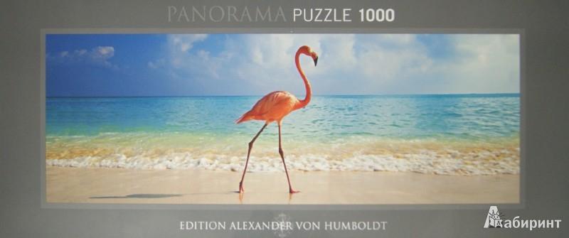 """Иллюстрация 1 из 4 для Puzzle-1000 """"Розовый Фламинго"""", панорама (29517)   Лабиринт - игрушки. Источник: Лабиринт"""