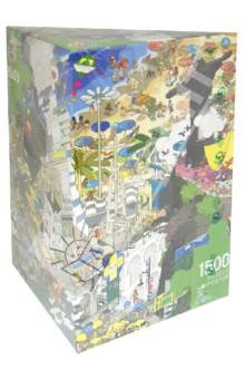 Puzzle-1500 Рио, еBoy (29575)Пазлы (1500 элементов)<br>Пазл-мозаика. <br>Количество элементов: 1500<br>Размер картинки: 80х60 см. <br>Правила игры: вскрыть упаковку и собрать игру по картинке.<br>Не давать детям до 3-х лет из-за наличия мелких деталей.<br>Упаковка: картонная коробка.<br>Сделано в Германии.<br>