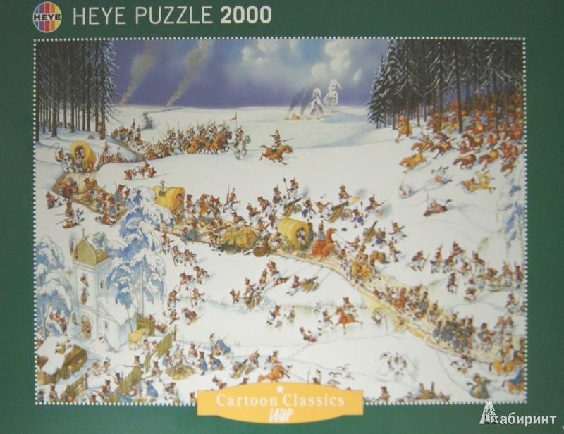 """Иллюстрация 1 из 10 для Puzzle-2000 """"Отступление Наполеона"""" (29566)   Лабиринт - игрушки. Источник: Лабиринт"""