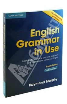 English Grammar in Use. Fourth edition. With answersАнглийский язык<br>A self-study reference and practice book for intermediate learners of English<br>English Grammar in Use Fourth Edition is an updated version of the best-selling grammar title.<br>This new edition with answers:<br>- has a fresh, appealing new design and clear layout, with revised and updated examples<br>- is arranged in a tried-and-trusted, easy to use format, with explanations of grammar points on each left-hand page and exercises to check understanding on the right<br>- is perfect for independent studying and the study guide helps learners to identify which language points to focus on<br>- contains lots of additional practice exercises to consolidate learning.<br>