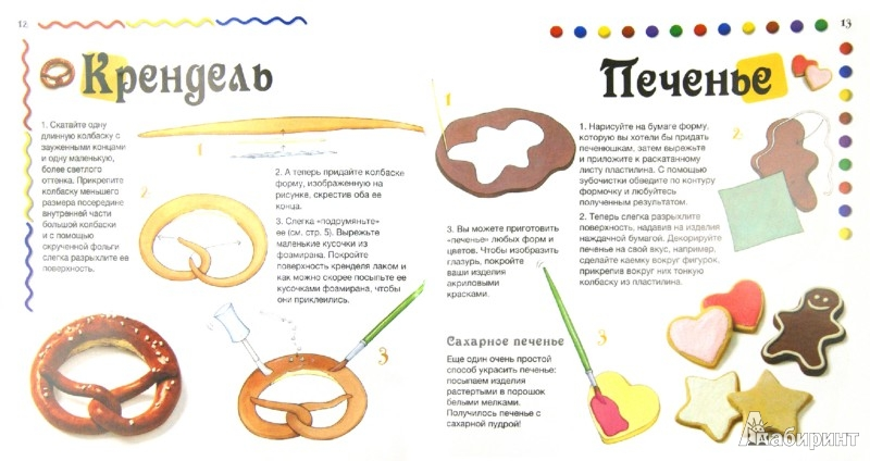 Иллюстрация 1 из 10 для Лепим сладкие угощения - Бернадетт Куксарт | Лабиринт - книги. Источник: Лабиринт