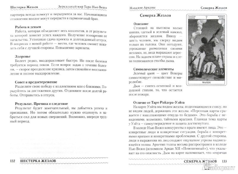 Иллюстрация 1 из 6 для Зеркальный мир Таро Нью Вижн. Методическое пособие - Наталья Шадрина   Лабиринт - книги. Источник: Лабиринт