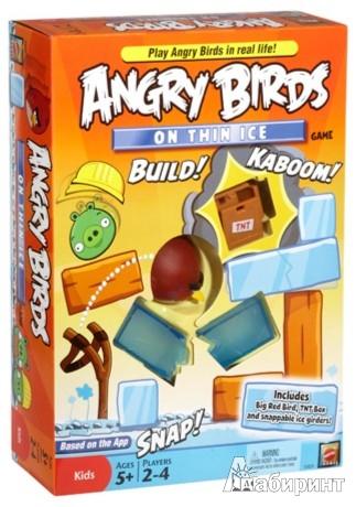 Иллюстрация 1 из 13 для Игра настольная  Angry Birds (3029X) | Лабиринт - игрушки. Источник: Лабиринт