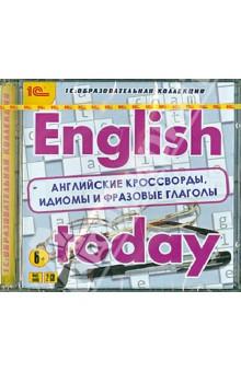 English today. Английские кроссворды, идиомы и фразовые глаголы (2CD)