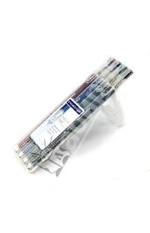Шариковая ручка Triplus Ball, F 0,3 мм, набор 4 цвета (431FSB4)Наборы шариковых ручек<br>Набор многоразовых шариковых ручек, 4 цвета.<br>- Эргономичный трехгранный корпус с прорезиненным покрытием для письма без усилий и усталости;<br>- Не смываемые чернила, устойчивые к стиранию, влажной среде и химическим реагентам;<br>- Цвет чернил соответствует цвету корпуса (красный, синий, зеленый, черный);<br>- Металлические наконечник и заглушка;<br>- Функция  автоматического выравнивания давления, предотвращение от утечки чернил в полете; <br>- Мягкое и плавное письмо;<br>- Сменный стержень; <br>- Толщина линии: 0,3 мм.<br>Упаковка: пластиковая коробка-подставка с подвесом.<br>Сделано в Германии.<br>