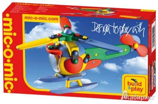 """Иллюстрация 1 из 17 для Конструктор. Вертолет """"Стрекоза"""" (485006/089.006)   Лабиринт - игрушки. Источник: Лабиринт"""