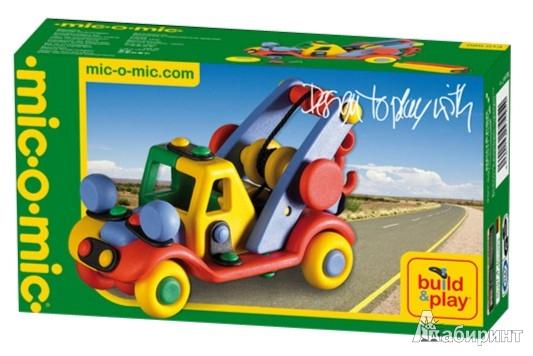Иллюстрация 1 из 5 для Конструктор. Машина. 66 деталей. (485013/089.013) | Лабиринт - игрушки. Источник: Лабиринт