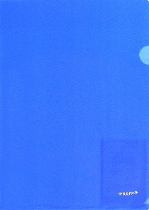 Иллюстрация 1 из 2 для Папка-уголок A4, синяя 0.20 мм (CH510A/20-TF-04) | Лабиринт - канцтовы. Источник: Лабиринт
