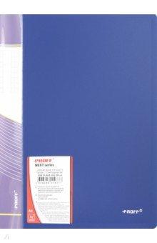 Папка A4 с 10 вкладышами, синяя (DB10AB-04)