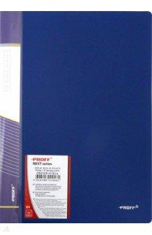 Папка A4 с 40 вкладышами, синяя (DB40AB-04) Proff