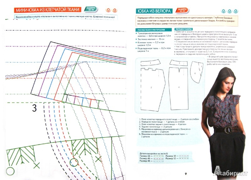 Иллюстрация 1 из 10 для Шьем юбки. Оригинальные модели на каждый день - Светлана Ермакова | Лабиринт - книги. Источник: Лабиринт