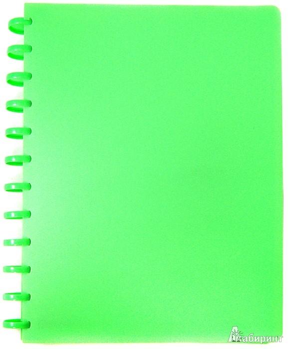 Иллюстрация 1 из 2 для Папка на кольцах. 40 файлов. Цвет: зеленый (CY40MG-G) | Лабиринт - канцтовы. Источник: Лабиринт